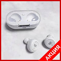Беспроводные Bluetooth наушники, гарнитура JBL TWS 05 Белые