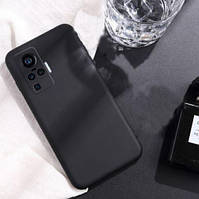Силиконовый чехол Liquid Silicone Case Vivo X50 Pro