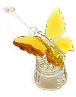 Бабочка хрустальная (8х5х4,5 см)