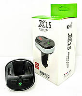 FM-модулятор X15 Bluetooth, фото 1