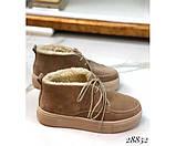 Ботинки зимние хайтопы на шнуровке, фото 2