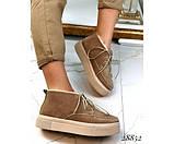 Ботинки зимние хайтопы на шнуровке, фото 3