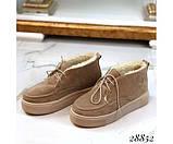 Ботинки зимние хайтопы на шнуровке, фото 4