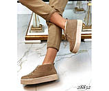 Ботинки зимние хайтопы на шнуровке, фото 5