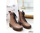Шкіряні черевики Dr. Martens, фото 5