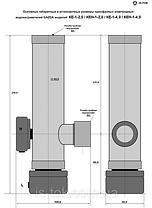 Котел электрический GAZDA-Extra КЕН-1-4,0, электродный однофазный водонагреватель 4/5,5 кВт, фото 3