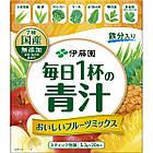 ITOH Аодзиру з листя ячменю з овочами і фруктами, 25 пакетиків по 5,3 г, фото 3