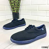 """Кроссовки мужские, синие """"Kojes"""" текстильные, мокасины мужские, кеды мужские, обувь мужская, фото 3"""