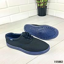 """Кроссовки мужские, синие """"Kojes"""" текстильные, мокасины мужские, кеды мужские, обувь мужская, фото 2"""