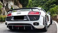 Задний спойлер Audi R8 ауди р8 V8 V10 MM-SO-R8-4S-HS1 козырек tuning тюнинг не ABT абт MTM мтм RS S, фото 1