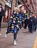 Крутая зимний удлиненный пуховиик на девочку подросток 110-160  Фабричный Китай в наличии!!