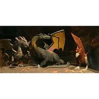Набор игровых фигурок HGL <<Мир драконов>> Серия A