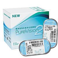 Контактные линзы PureVision 2HD 6шт. оригинал Bausch & Lomb