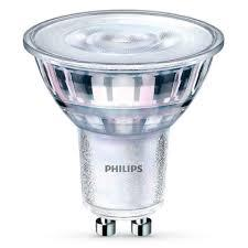 Лампа светодиодная Philips Essential LED Spot 4.7-50W GU10 СW 36D ND RCA
