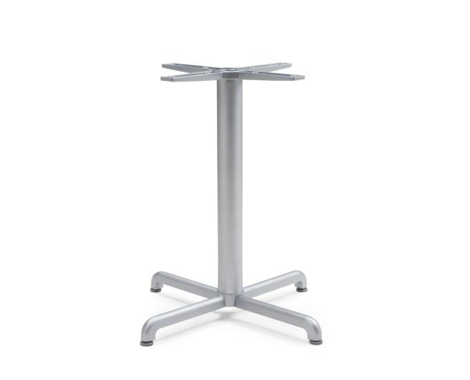 Основа для стола Calice Alu h72см silver