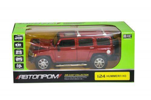 """Машинка """"Hummer H3"""" из серии """"Автопром"""" (красная) 68240A"""