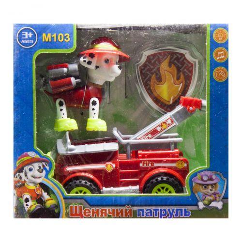 """Герой с машинкой """"Щенячий патруль: Маршал"""" M103"""