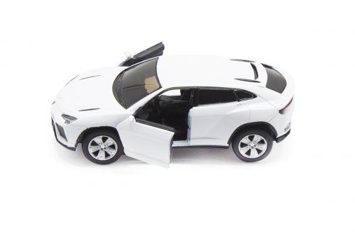 """Машинка KINSMART """"Lamborghini Urus"""" (белая) KT5368W"""