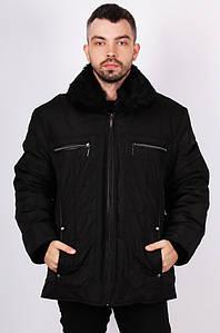 Курточка мужская зима черная 124966P