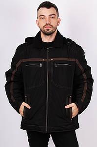 Курточка мужская зима черная 124968P