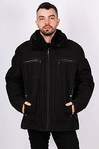 Курточка мужская зима черная 124969P