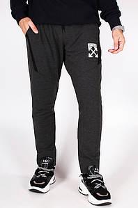Спортивные штаны мужские темно-серые Sport 014