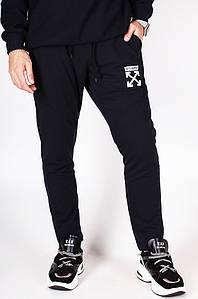 Спортивные штаны мужские темно-синие Sport 014-5