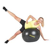 Фитбол (мяч для фитнеса) Hammer Gymnastics Ball 75 cm Anti-Burst System (антиразрыв) 66408, фото 3