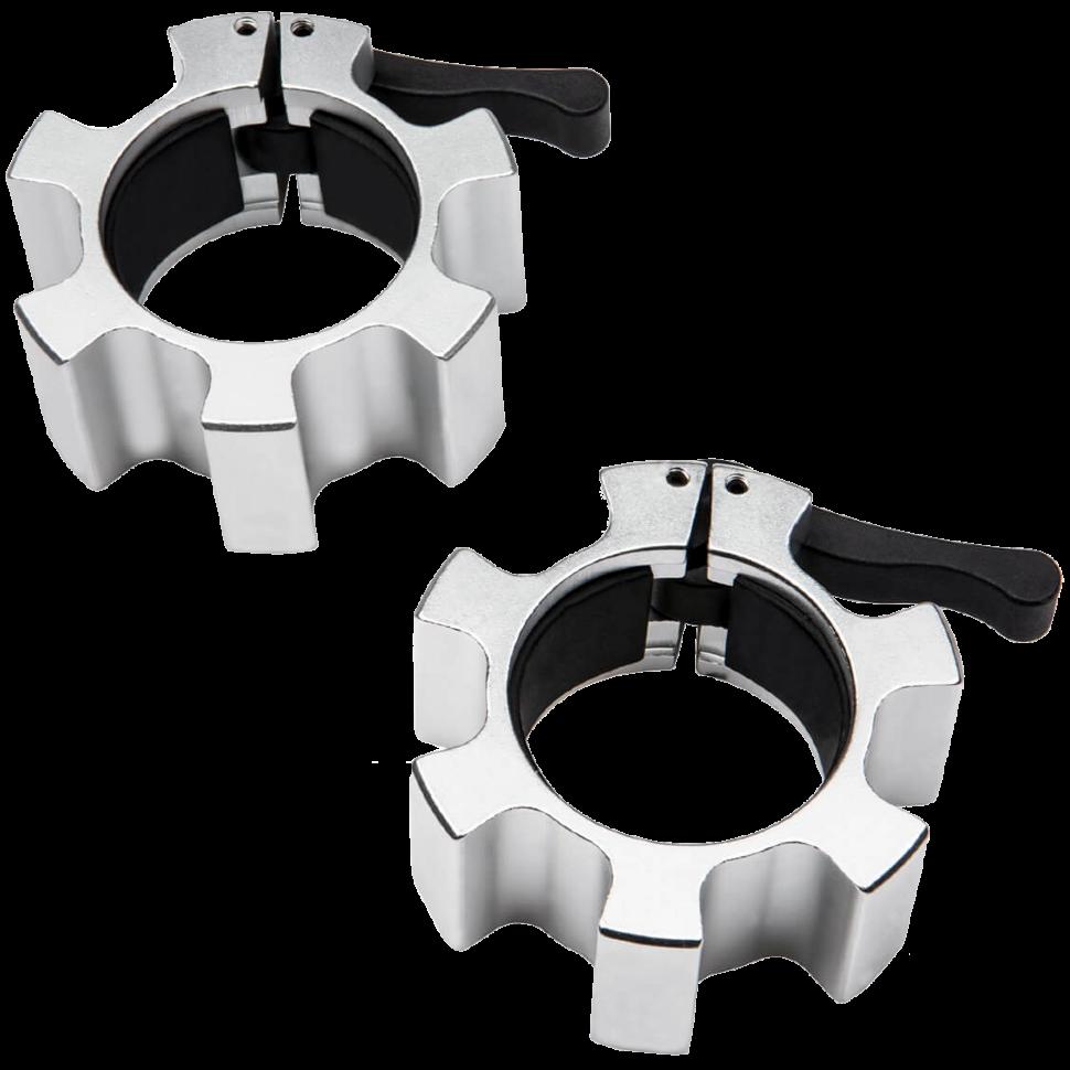 Замки для грифа быстросъемные Hammer Olympic Lock Jaw Collars 4703