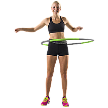 Обруч Tunturi Fitness Hoola Hoop 1,5 kg 14TUSFU275, фото 3