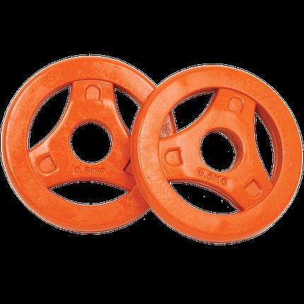 Диски для BodyPump Tunturi Aerobic Disk 2х0,5 kg 14TUSCL290, фото 2