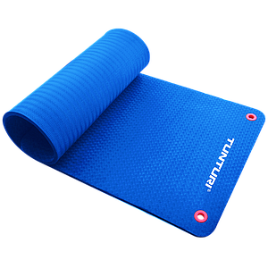 Килимок для фітнесу професійний Tunturi TPE Professional Fitness Mat Blue 14TUSFU126