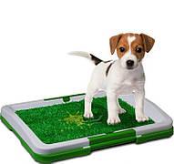 Туалет для собак Puppy Potty Pad 47х34х6 лоток для цуценят