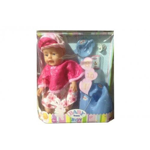 Лялька Baby Born (Бебі Борн) з аксесуарами