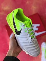 Сороконожки Nike Tiempo Ligera IV TF/многошиповки найк темпо/тиемпо/бампы лигера, фото 1