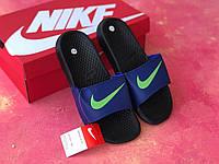 Сланцы/шлепки Nike(синие), фото 1