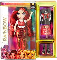 Лялька Мосту Хай Рубі Андерсон Rainbow High Ruby Anderson Red Fashion Doll