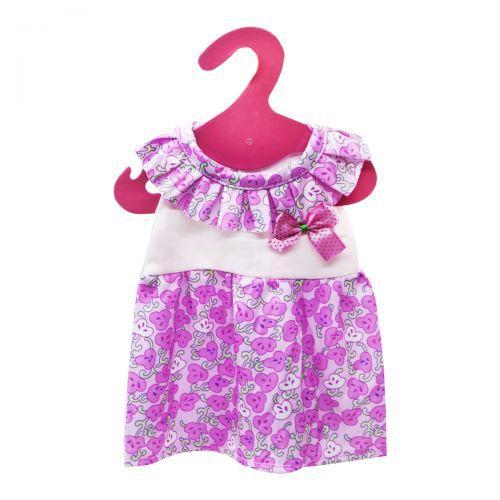 Одежда для пупса: Розовое платьице GCM18-41/44/GC18-42/43