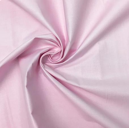 Польская хлопковая ткань светло-розовая 160 см, фото 2