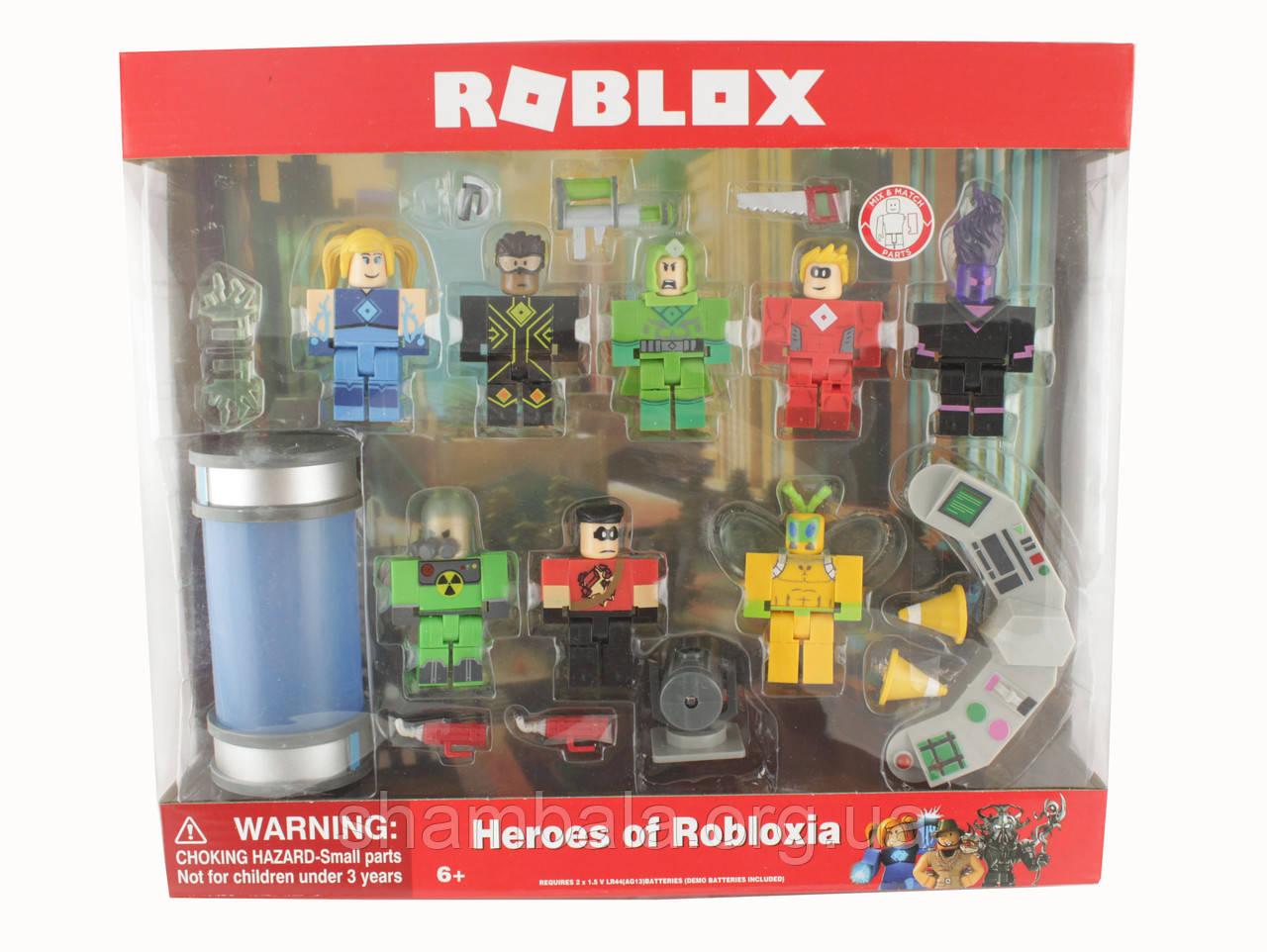 Набор фигурок Set Heroes Roblox (085609)