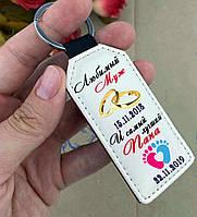 Брелок на подарок мужу и папе, брелоки с надписями