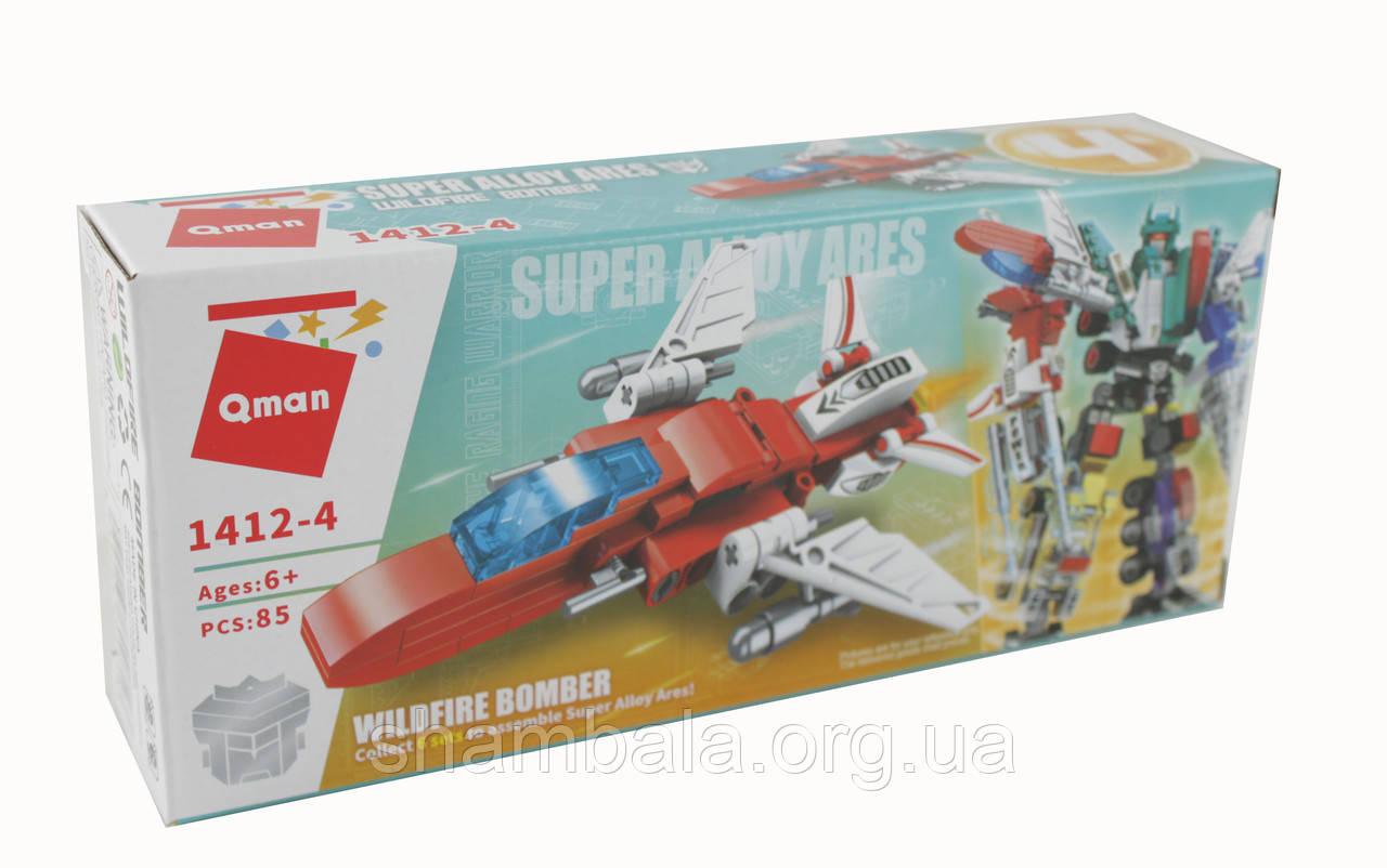 Конструктор Qman Wildfire Bomber 1412-4 (085364)
