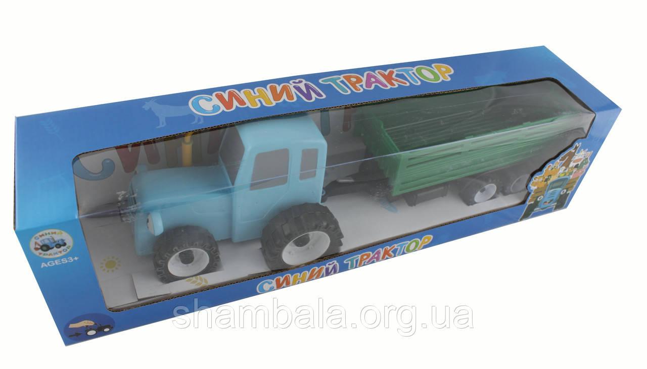 Трактор з зеленим причепом (084466)