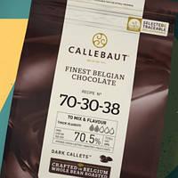 Шоколад горький №70-30-38(Strong), 70% (Barry Callebaut),400 гр. (фирменная пачка), фото 1