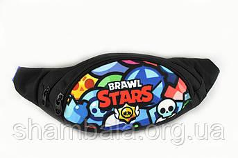 Сумочка на пояс Brawl Stars бананка різнобарвна (082707)