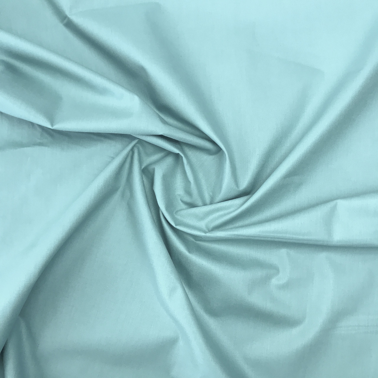 """Турецкая хлопковая ткань ранфорс """"бирюзовый"""" 240 см"""