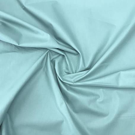 """Турецкая хлопковая ткань ранфорс """"бирюзовый"""" 240 см, фото 2"""