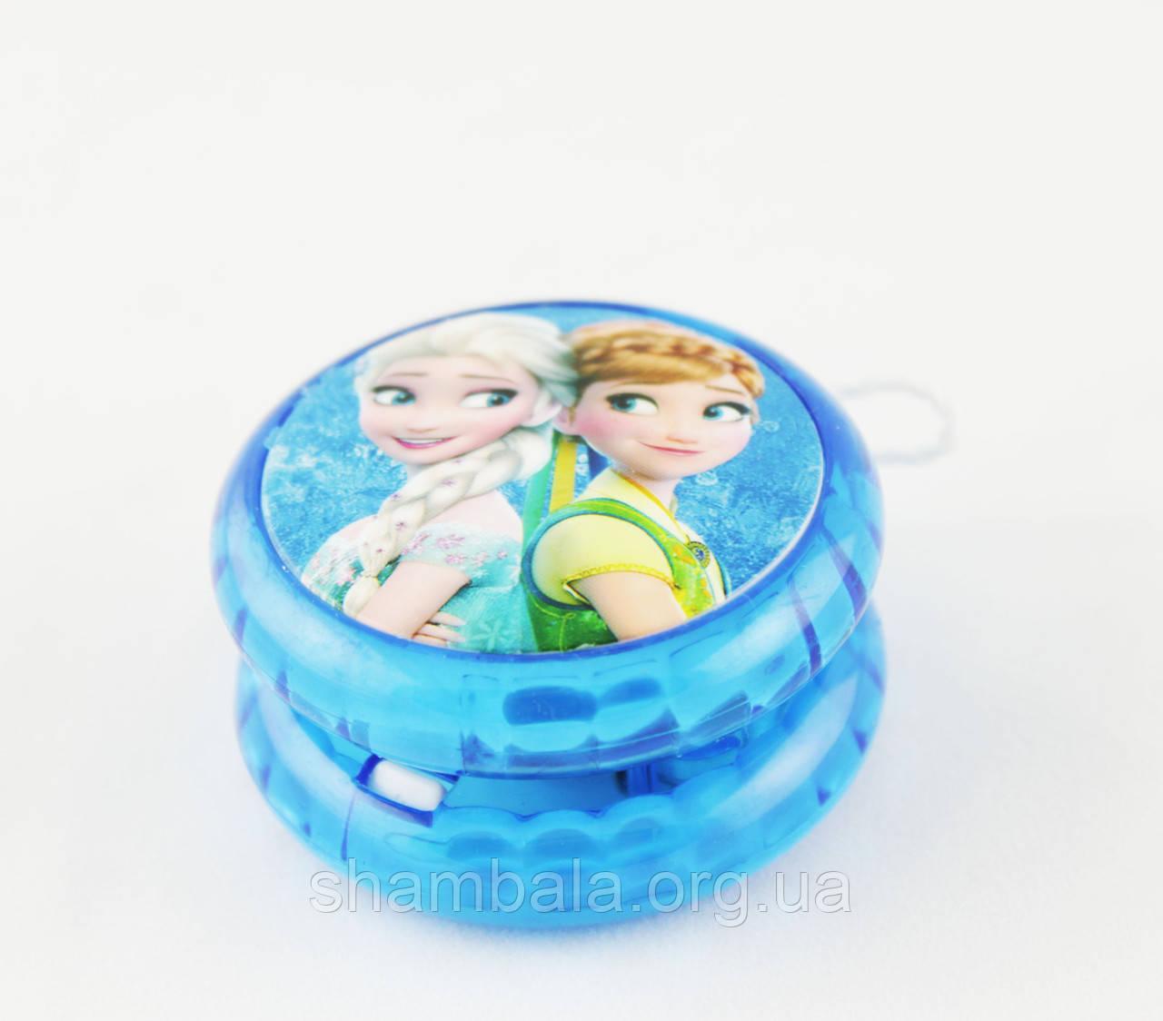 Йо-Йо Холодное сердце голубое (055428)