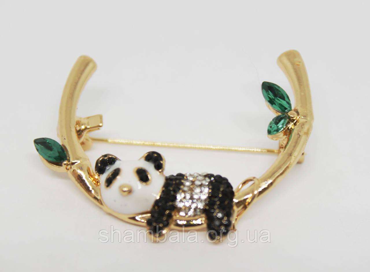 """Брошь Fashion Jewerly """"Panda"""" (081519)"""