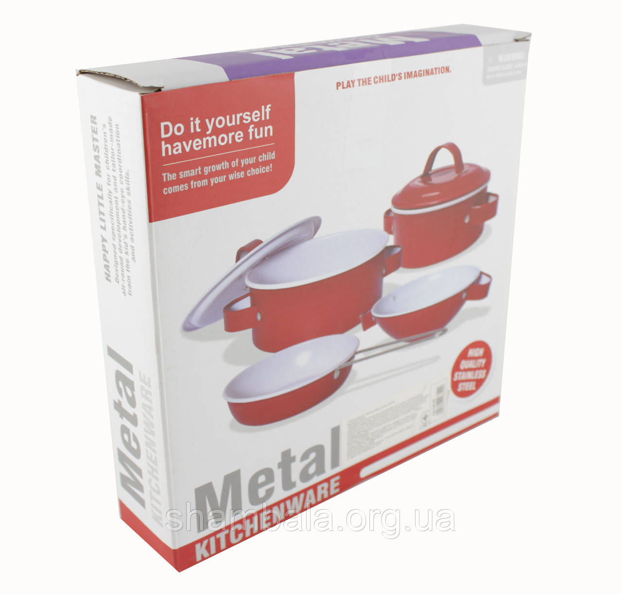 Сервиз Xingxing Yuan Metal Kitchenware детский (083681)